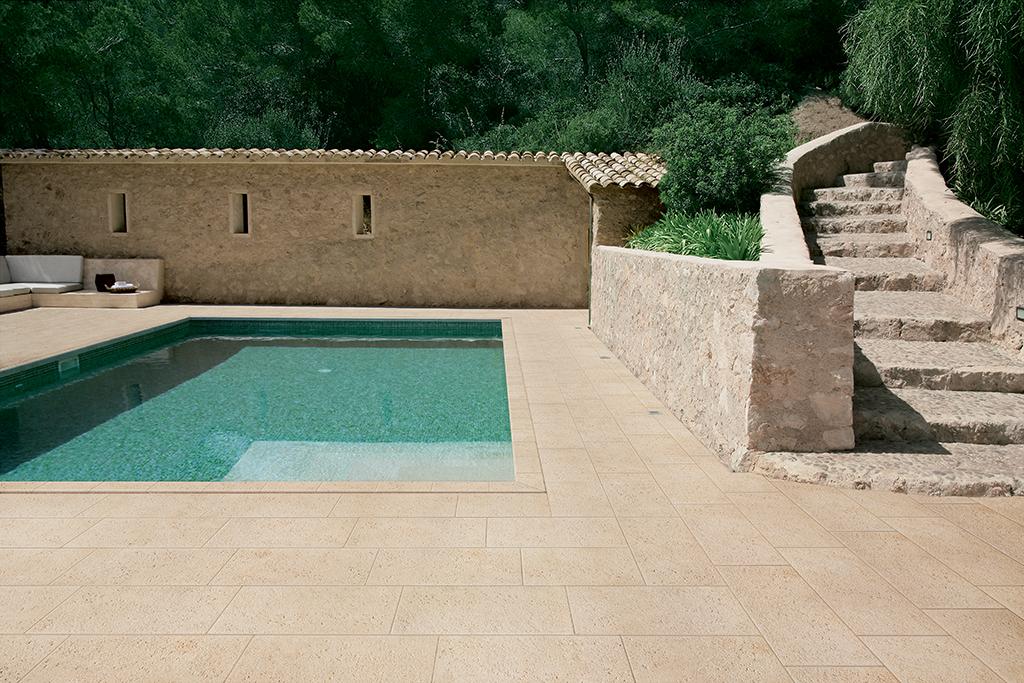 Pavimenti - Piastrelle di pietra per esterni ...